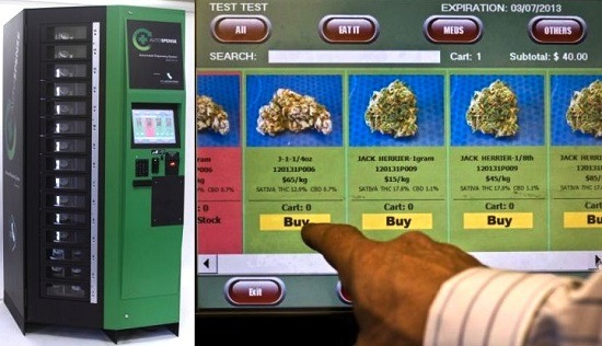 Colorado: where the first automatic cannabis dispenser was installed.