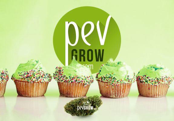 delicioso cupcake de marihuana