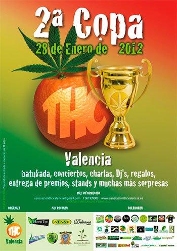 Segunda Edición Copa THC Valencia 28 de Enero de 2012