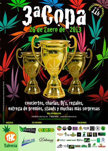 Tercera Edición Copa THC Valencia 26 Enero 2013