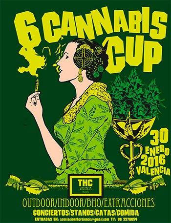 Sexta Edición Copa THC Valencia 30 Enero 2016
