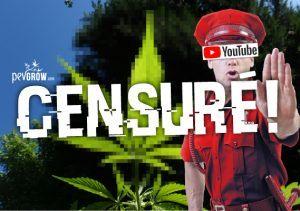 Youtube commence à suspendre les chaînes relatives au cannabis.