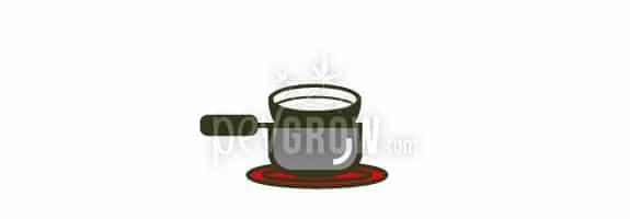 Mettre une casserole avec de l'eau à chauffer