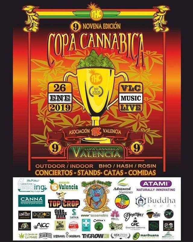 Affiche Neuvième Edition THC Cup Valencia 2019