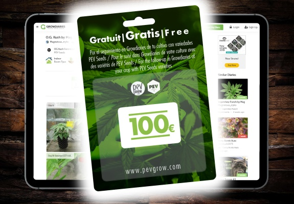 Track with Growdiaries and win €100 without raffles