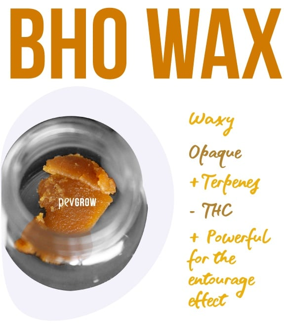 Image of BHO Wax ready for consumption*
