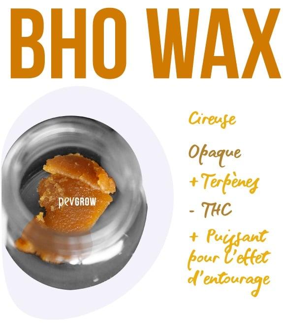 Imagen de BHO Wax prêt à être consommé*