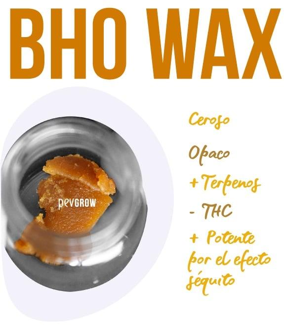 Imagen de BHO Wax listo para su consumo*