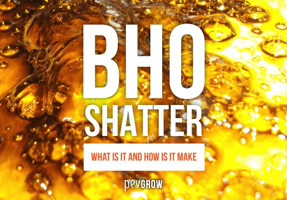 What is BHO Shatter and how to make it??