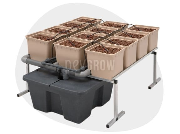 Imagen del sistema de cultivo Hidro Dutch Pot de GHE*