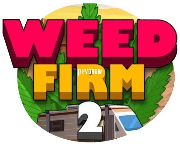 Imagen del juego Weed Firm 2 donde se ve una caravana con una hoja de cannabis*
