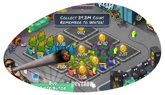 Wiz Khalifa Weed Farm game image*