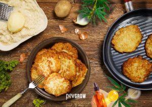 Latkes de pommes de terre au cannabis: une recette rapide et délicieuse