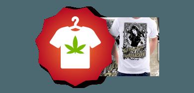 Camisetas marihuana