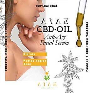 Aceite CBD ARAE serum facial