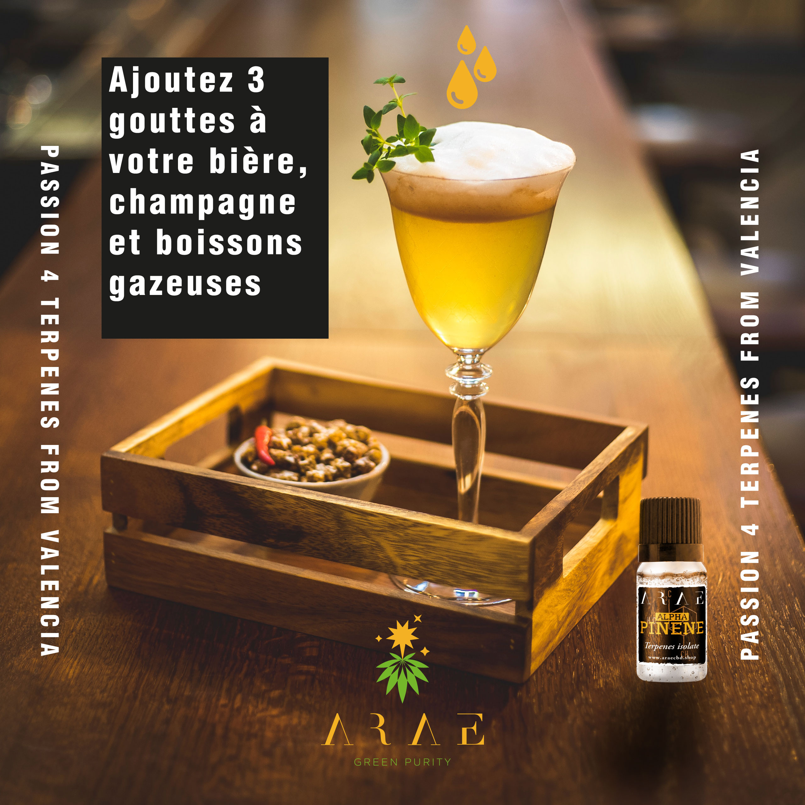 Alfa Pinene ARAE drinks