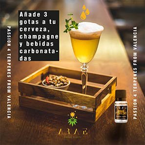 Alfa Pineno ARAE bebidas