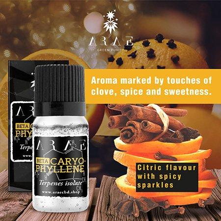 Beta Caryophyllene ARAE flavor and aroma
