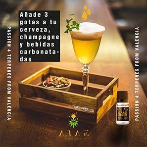Camfeno ARAE bebidas