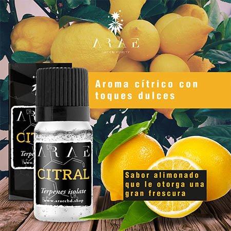 Citral ARAE sabor y aroma