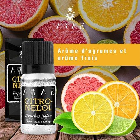 Citronellol ARAE goût et arôme