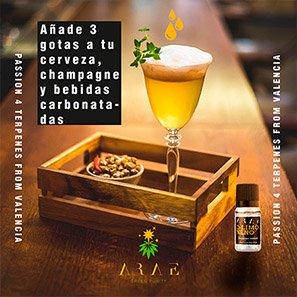 D-limoneno ARAE bebidas
