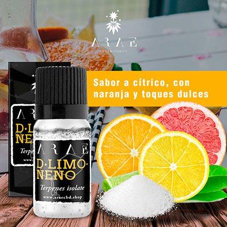 D-limoneno ARAE sabor y aroma