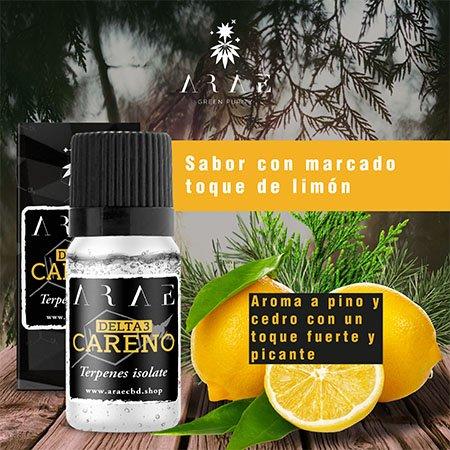 Delta 3 Careno ARAE sabor y aroma