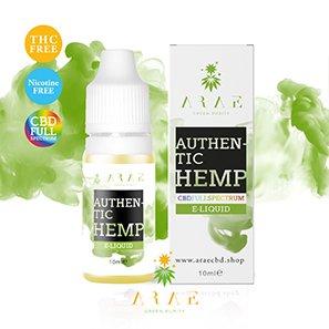 E-liquide ARAE CBD + Terpene Authentic Hemp