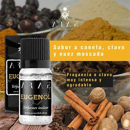 Eugenol ARAE sabor y aroma