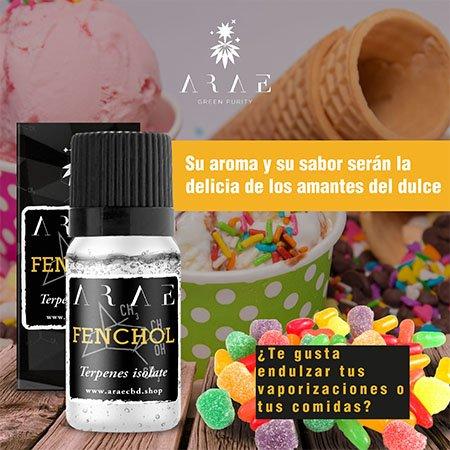 Fenchol ARAE sabor y aroma
