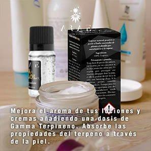 Gamma Terpineno ARAE cremas