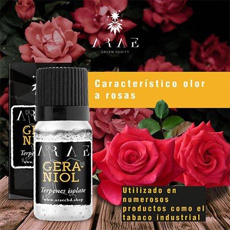 Geraniol ARAE sabor y aroma