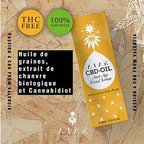 Huile CBD ARAE THC free
