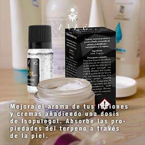 Isopulegol ARAE cremas