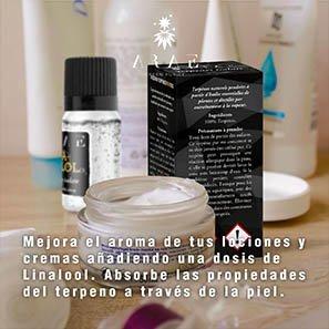 Linalool ARAE cremas