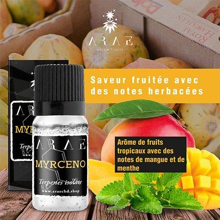 Myrcène ARAE goût et arôme