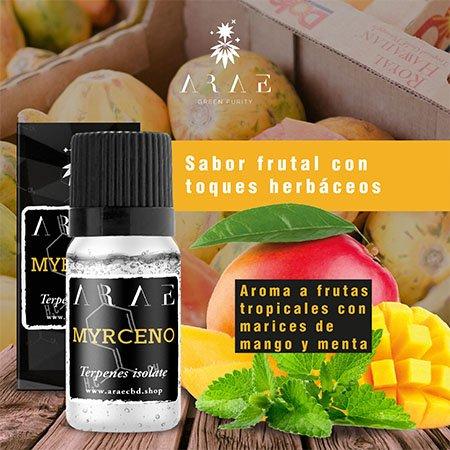 Mirceno ARAE sabor y aroma