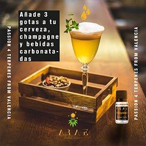 P-Cimeno ARAE bebidas