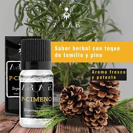 P-Cimeno ARAE sabor y aroma