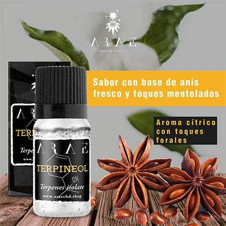 Terpineol ARAE sabor y aroma