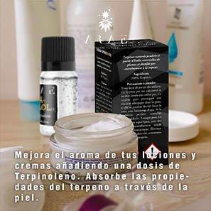 Terpinoleno ARAE cremas